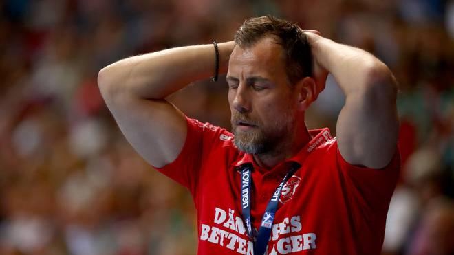 Trainer Maik Machulla litt bei der Niederlage der SG Flensburg-Handewitt mit