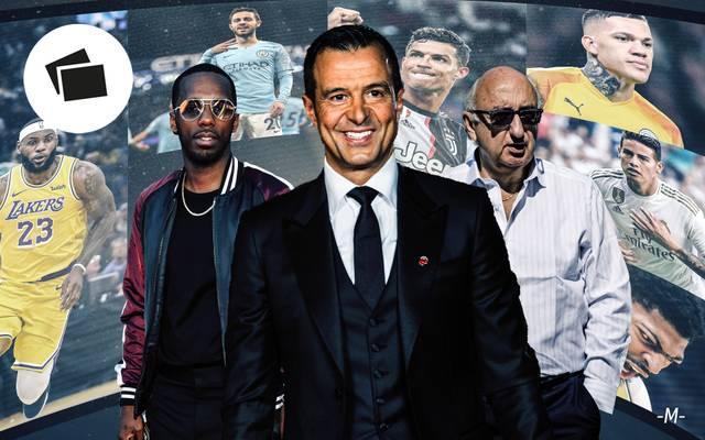 Die mächtigsten Spielerberater im Sport