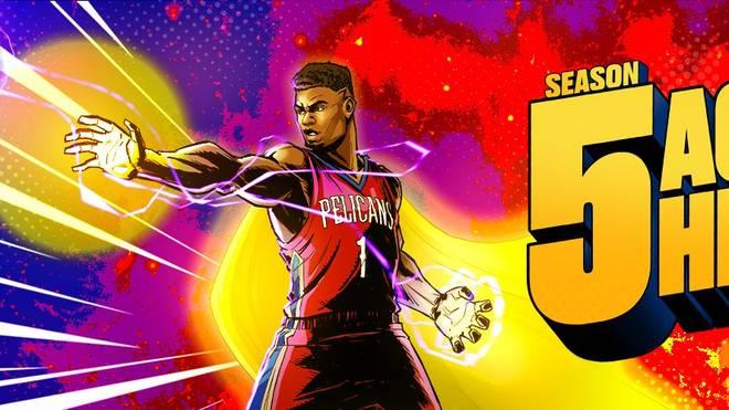 Die fünfte Season des NBA2K21-MyTeam-Modus kommt dieses Mal im Marvel/DC-Design daher