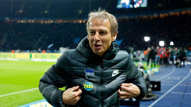 Jürgen Klinsmann hat eine klare Vision für Hertha BSC