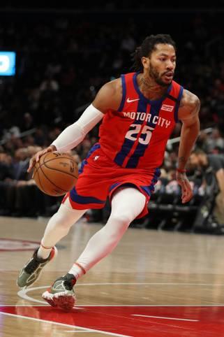 """Die Gerüchte um Derrick Rose werden heißer. Unter anderem sollen die Los Angeles Lakers und die Philadelphia 76ers am Point Guard aus der """"Motor City"""" Detroit interessiert sein"""