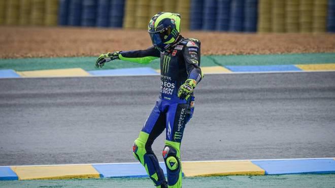 Valentino Rossi wird positiv auf das Virus getestet