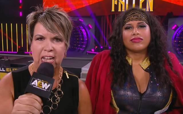 Vickie Guerrero ist bei AEW nun Managerin von Nyla Rose