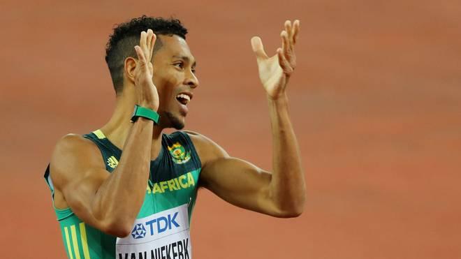 Wayde van Niekerk ist der Top-Mann über die 400m