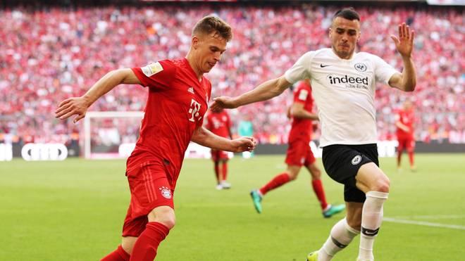 Im vergangenen Duell mit Frankfurt machte der FC Bayern die Meisterschaft perfekt