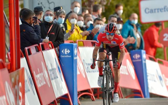 Primoz Roglic gewann die achte Etappe der Vuelta 2020