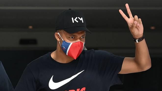 Kylian Mbappé steht mit Paris Saint-Germain im Finale der Champions League