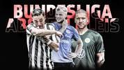 Marco Fabian, Johannes Geis und Jeffrey Bruma (v.l.) haben in ihren Klubs nicht die besten Karten