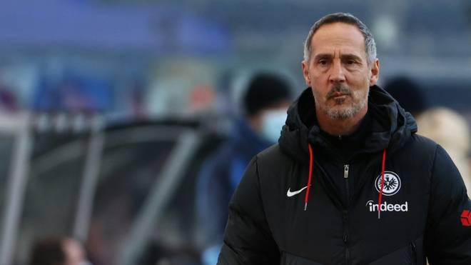 Hütter will nach der Niederlage in Bremen mit Frankfurt eine Reaktion zeigen