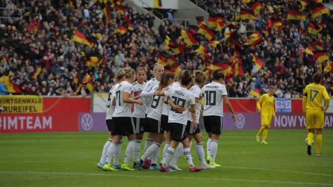Die DFB-Damen besiegen die Ukraine in der EM-Qualifikation mit 7:0