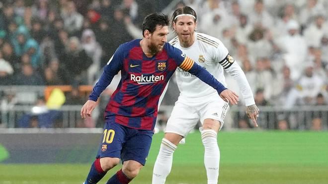 Lionel Messi und Sergio Ramos treffen schon bald aufeinander