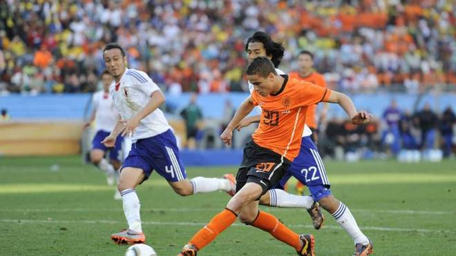 Ibrahim Affelay bei der WM 2010