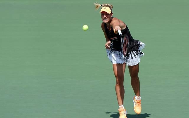 Angelique Kerber hatte bis zum Turnier in Osaka seit Wimbledon kein Match gewonnen