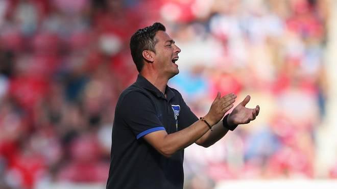 Ante Covic ist seit dieser Saison Trainer bei Hertha BSC