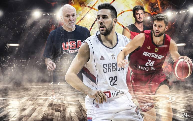Die Basketball-WM in China startet am Samstag. Gemeinsam mit dem 105-maligen Nationalspieler Tibor Pleiß macht SPORT1 das Powerranking zu den Top-Teams des Turniers