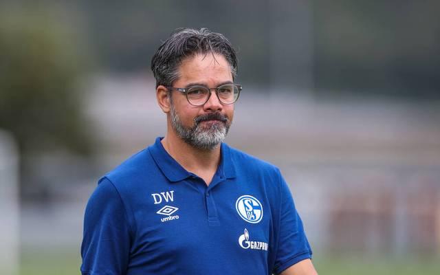 Schalke-Trainer David Wagner gehen derzeit die Spieler aus