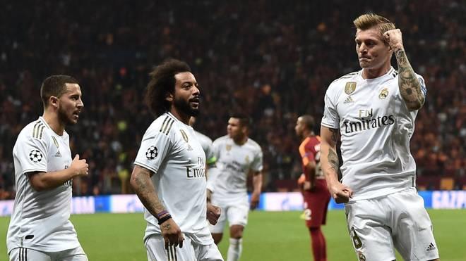 Toni Kroos traf gegen Galatasaray Istanbul zum Sieg für Real Madrid