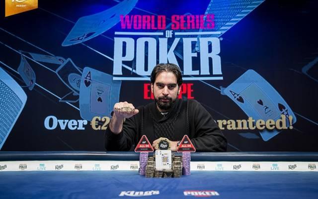 Alexandros Kolonias gewann den Main Event
