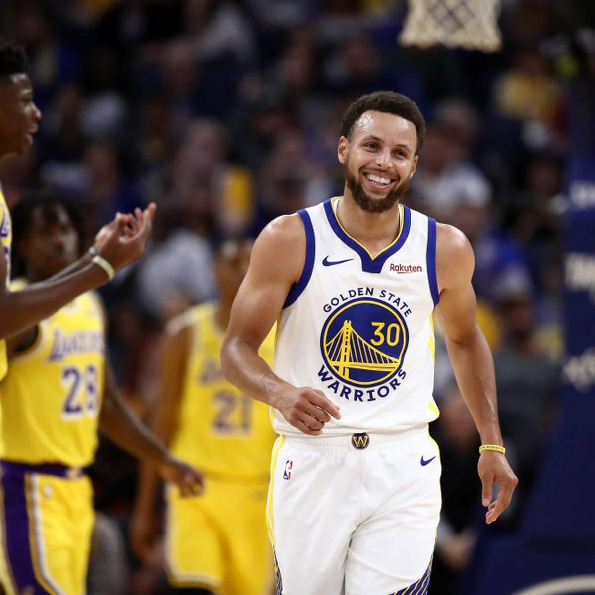 Warriors feiern 1. Sieg gegen Lakers