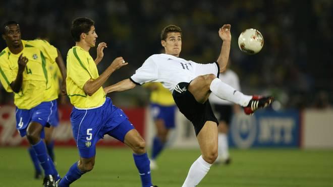 Miroslav Klose bei der WM gegen Brasilien