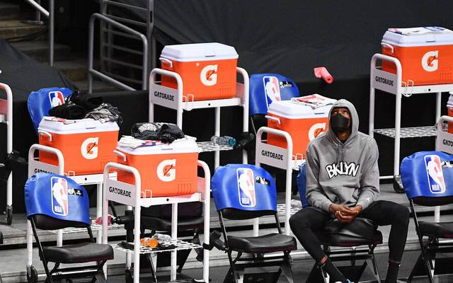Kevin Durant spielt seit 2019 bei den Brooklyn Nets