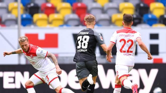 Fortuna Düsseldorf und die TSG Hoffenheim liefern sich einen Schlagabtausch