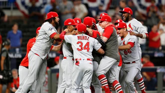 Die St. Louis Cardinals stehen im Halbfinale der Playoffs