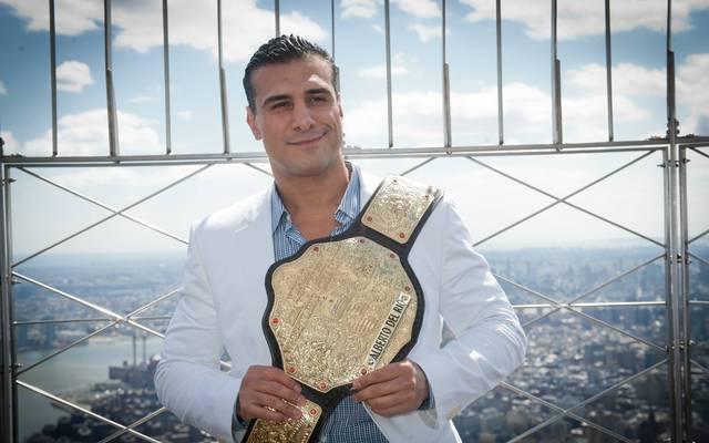 Alberto Del Rio war zweimal World und zweimal WWE-Champion