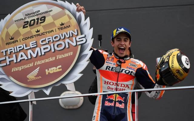 Marc Marquez bis 2024 bei Honda