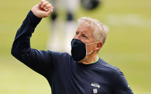 Pete Carroll ist seit 2010 Headcoach der Seattle Seahawks