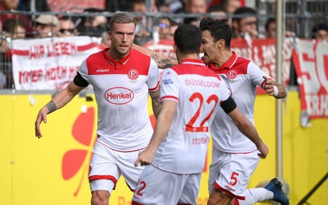 Fortuna Düsseldorf gelang gegen den SC Freiburg ein wichtiger Sieg im Abstiegskampf