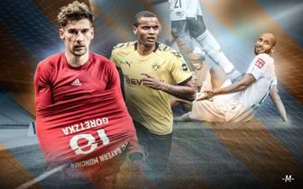 Verletzte Bundesliga-Spieler