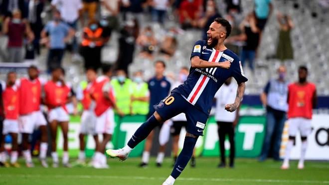 Neymar schoss den fünften Elfmeter für PSG