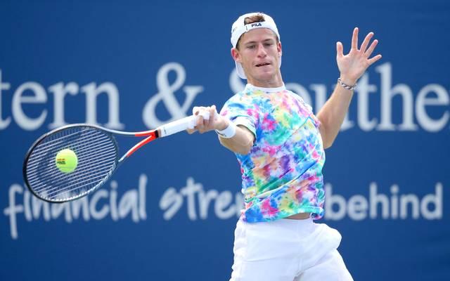 Diego Schwartzman ist überraschend in der ersten Runde der US Open gescheitert