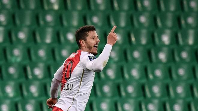 Stevan Jovetic traf zum 1:0 bei der AS St. Etienne