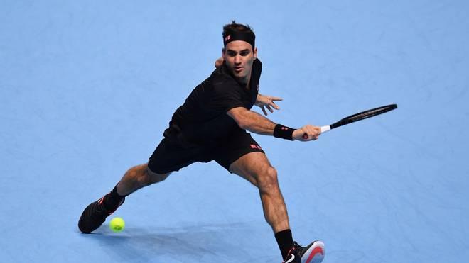 Roger Federer trifft auf Stefanos Tsitsipas