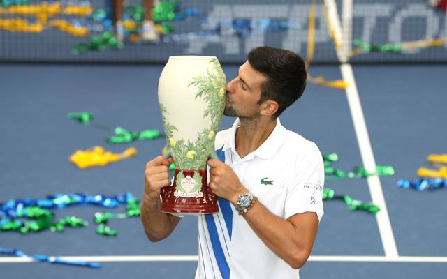 Novak Djokovic gewinnt die Western & Southern Open