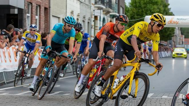 Egan Bernal (r.) hat die Tour de France 2019 gewonnen