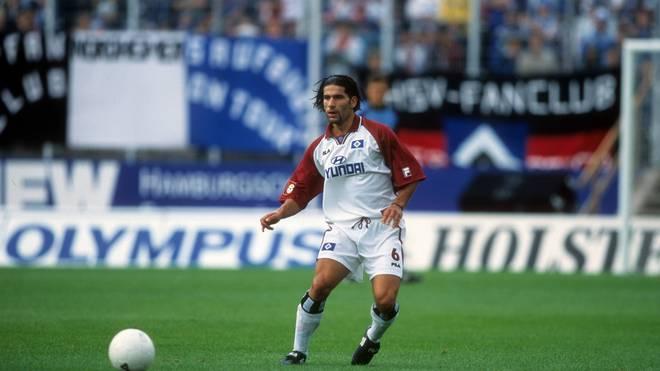 Dimitrios Grammozis war schon als Spieler für den HSV aktiv