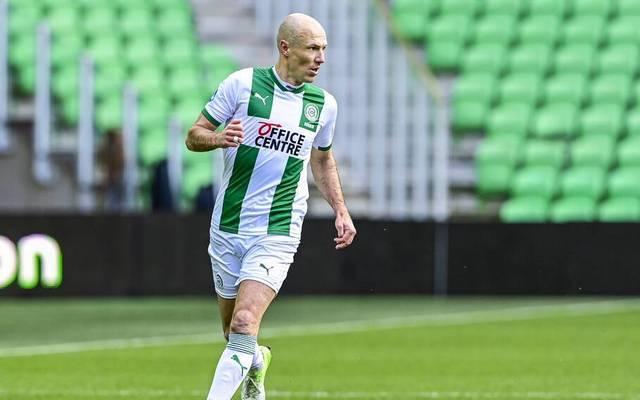Arjen Robben absolvierte seinen ersten Einsatz seit Oktober
