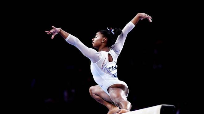 Simone Biles holt mit gerade einmal 22 Jahren ihre 16. Gold-Medaille