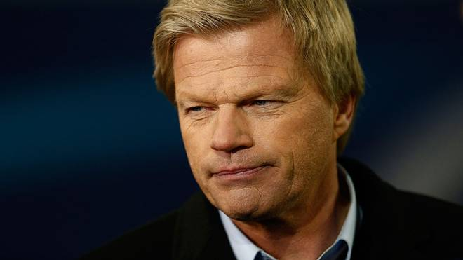 GENT, BELGIUM - FEBRUARY 17:  Television commentator and former Germany goalkeeper Oliver Kahn looks on during the UEFA Champions League round of 16,  first leg match between KAA Gent and VfL Wolfsburg at Ghelamco Arena on February 17, 2016 in Gent, Belgium.  (Photo by Dean Mouhtaropoulos/Getty Images)