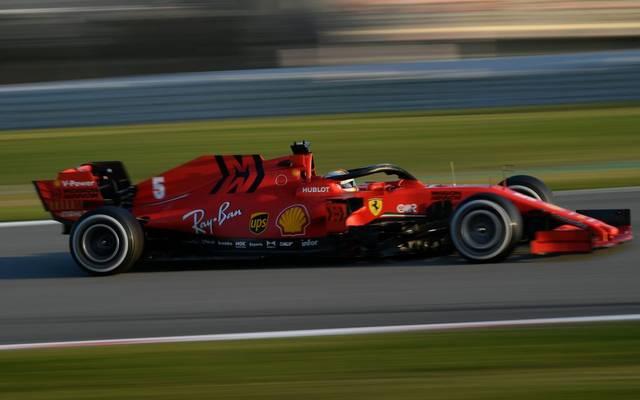 Ferrari fährt bei den bisherigen Testfahrten nur hinterher