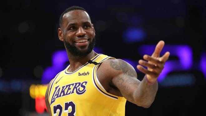 LeBron James war Topscorer bei den Lakers