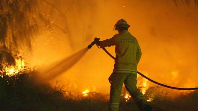 Schwere Buschfeuer bedrohen die Austragung des ATP Cups in Sydney