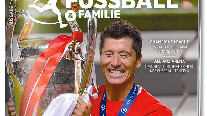 """Am 8. März ist die erste Ausgabe des Sportmagazins """"FUSSBALL & FAMILIE"""" erschienen"""