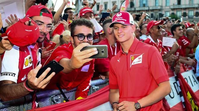 Mick Schumacher durfte im vergangenen Jahr schon für Ferrari testen