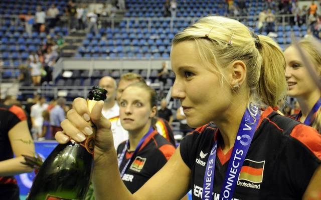 2011 stürmte Mareen von Römer mit dem Nationalteam bis ins EM-Finale und gewann Silber