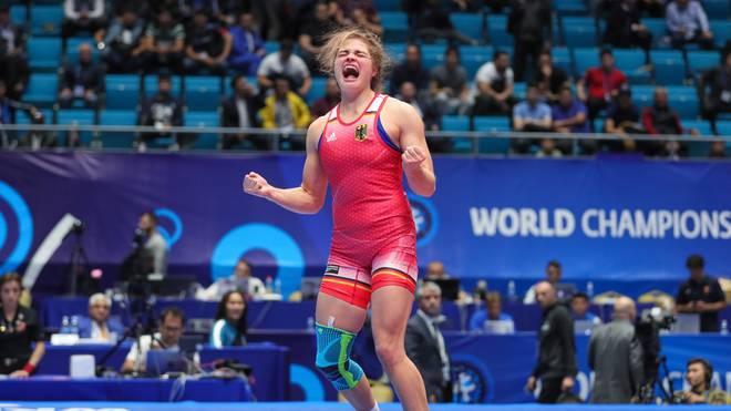 Anna Schell hat sich bei der WM für Olympia qualifiziert