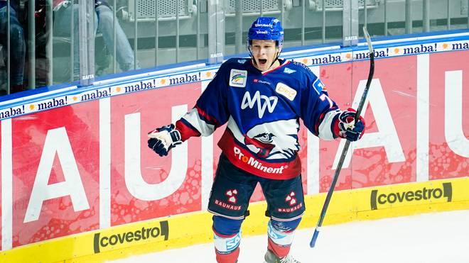 Jan-Mikael Järvinen erzielte das entscheidende Tor für die Adler Mannheim